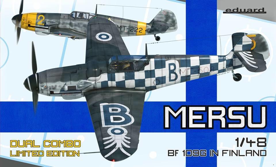 BF 109 Mersu Eduard 48