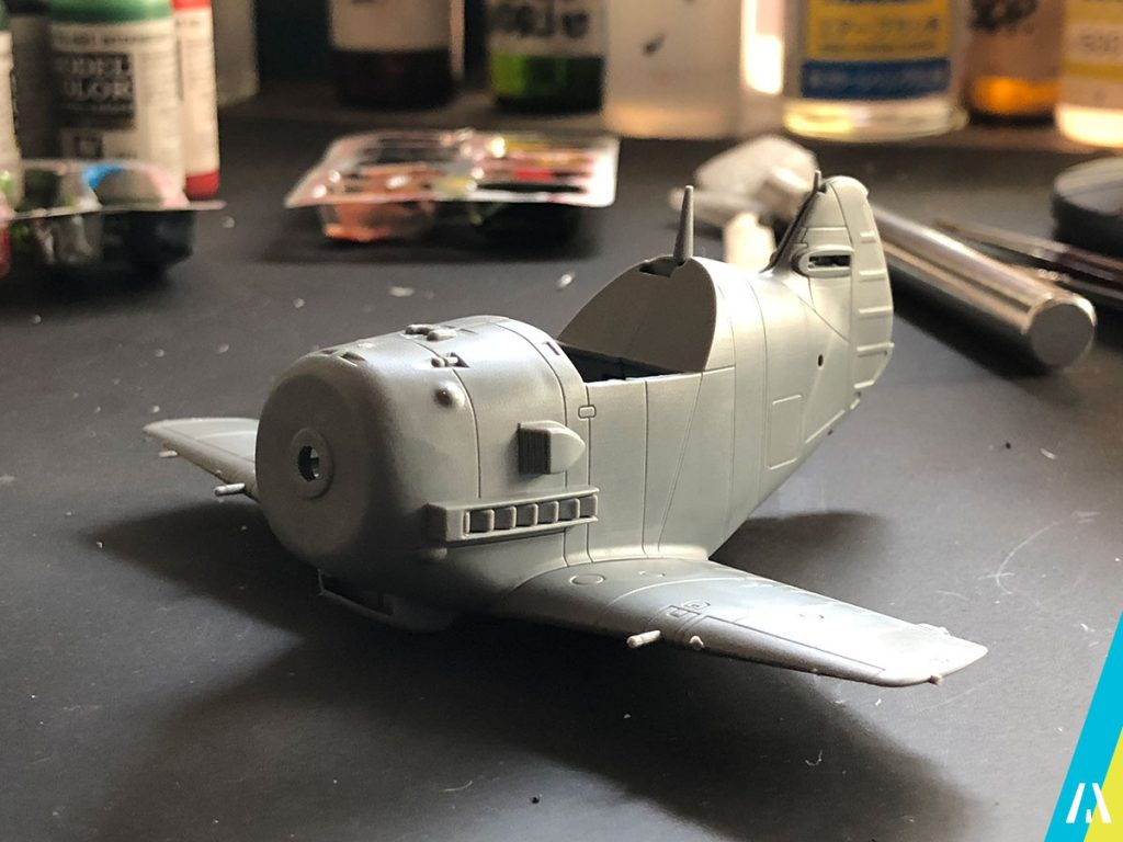 BF109 Eggplane Tiger Model