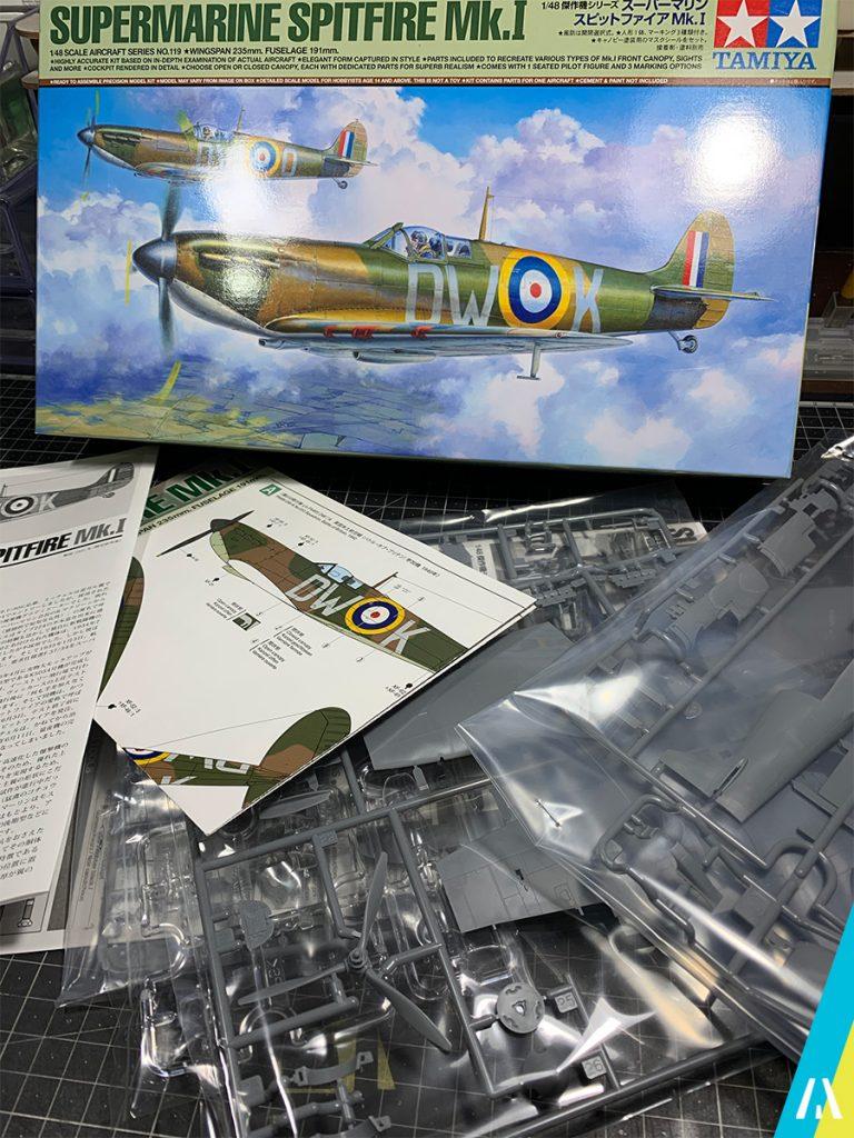 Supermarine Spitfire Mk.I Tamiya