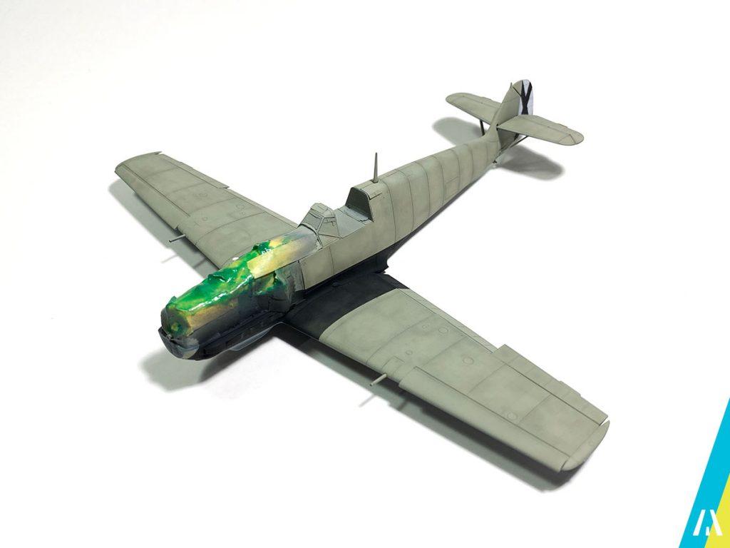BF109 Legion Condor Aviones a Escala