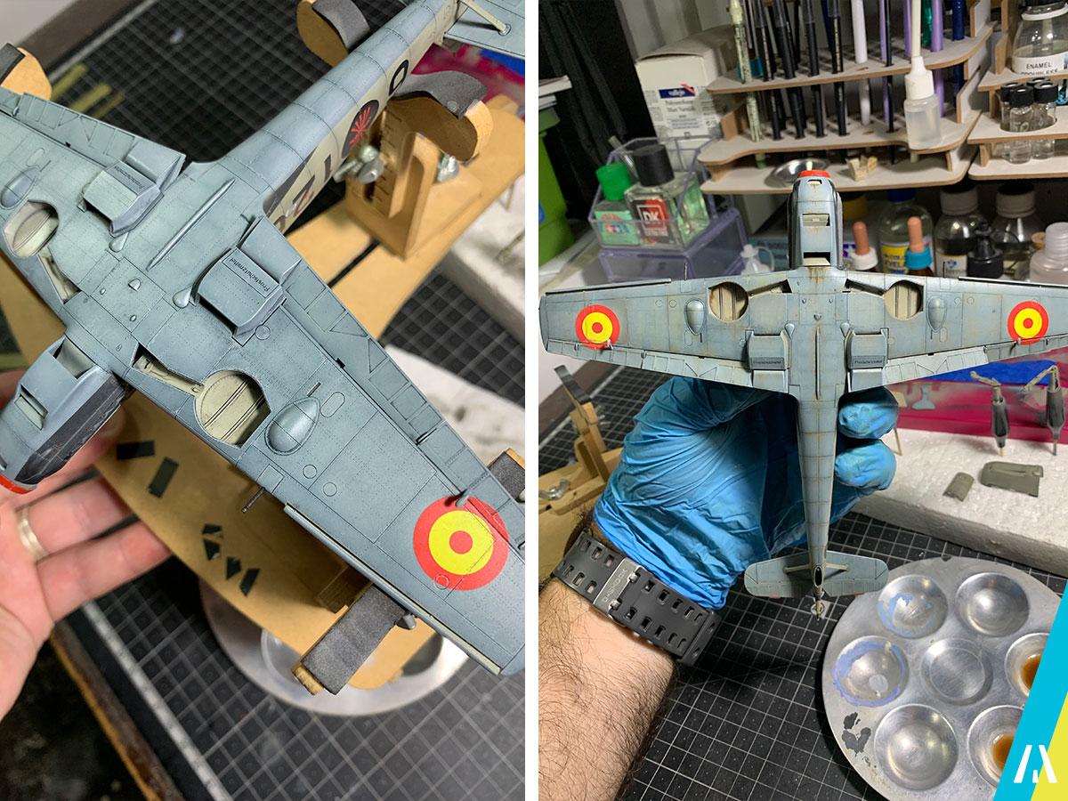 BF109 Legion Condor Weathering