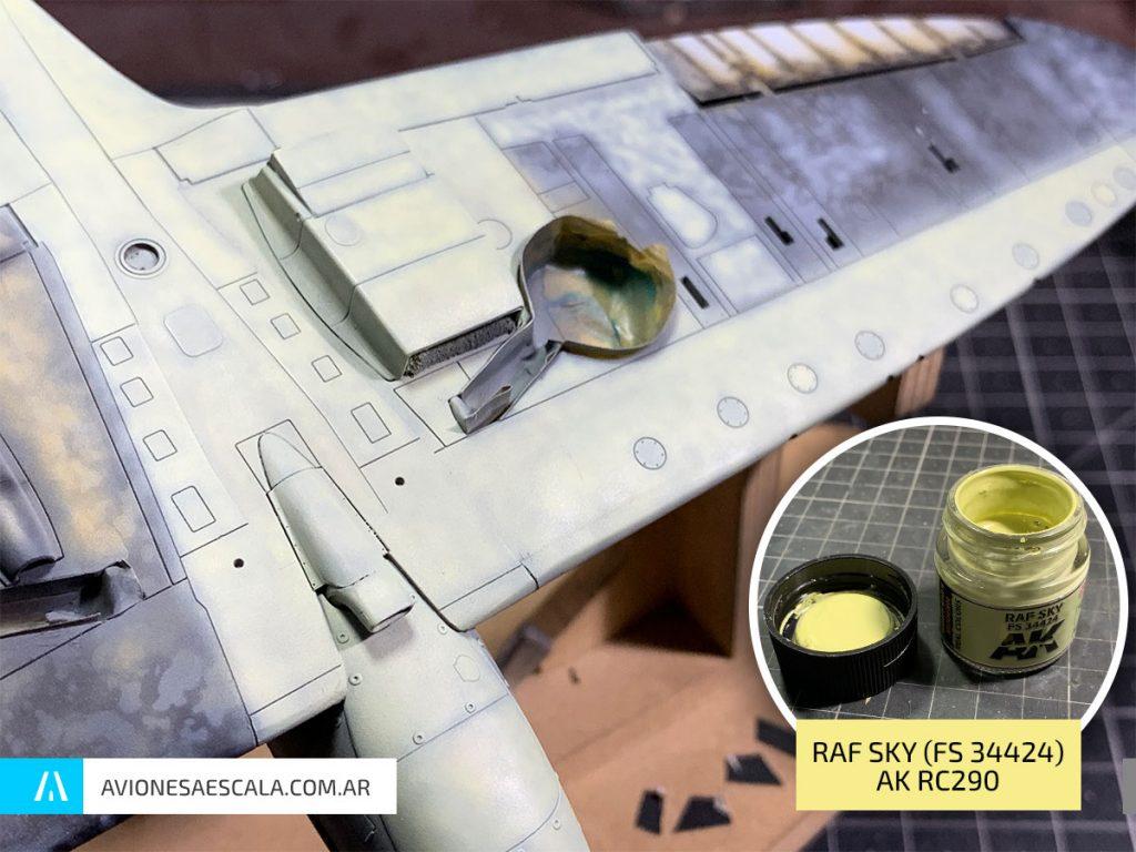 Spitfire Mk1 AAE Airfix