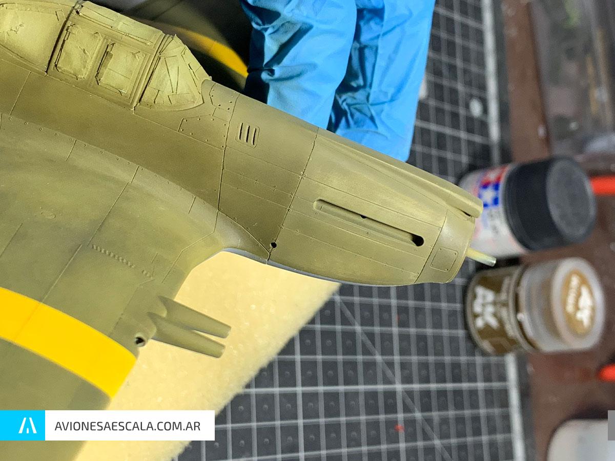Mustang P51 efectos pintura AAE