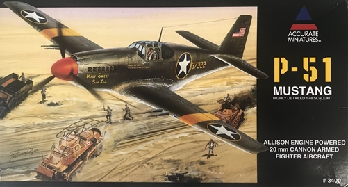 P51-A Mustang Accurate Miniatures